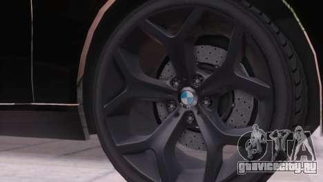 BMW 750Li E66 для GTA San Andreas вид сверху