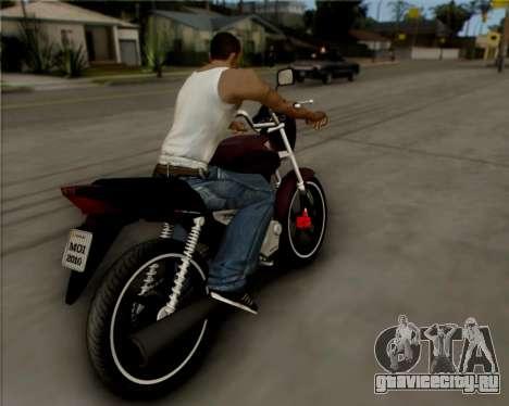Honda Titan для GTA San Andreas вид справа