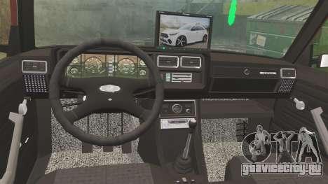 ВАЗ-2107 Donk Style для GTA 4 вид сбоку