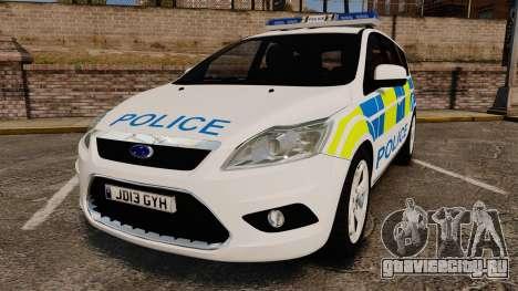 Ford Focus Estate Essex Police [ELS] для GTA 4