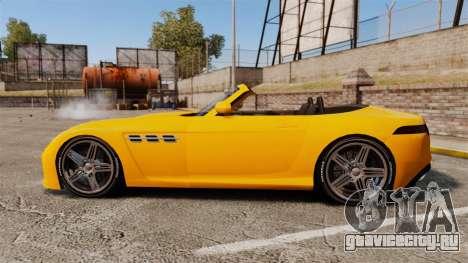 GTA V Benefactor Surano для GTA 4 вид слева