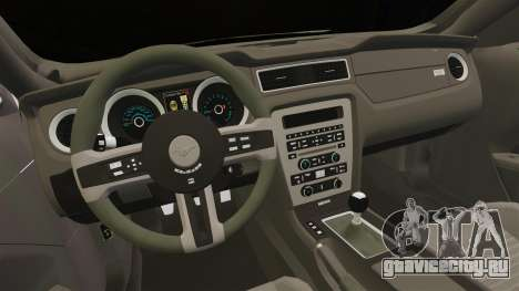Ford Mustang 2015 Rocket Bunny TKF для GTA 4 вид изнутри