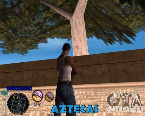 C-Hud by Abelardo для GTA San Andreas второй скриншот