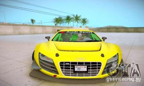 Audi R8 LMS Ultra v1.0.0 для GTA San Andreas вид сбоку