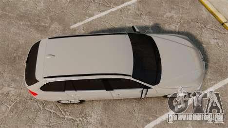 BMW 330d Touring (F31) 2014 Unmarked Police ELS для GTA 4 вид справа