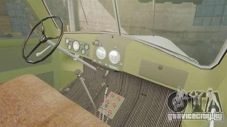 ЗиЛ-157 ГВК-32 для GTA 4 вид изнутри