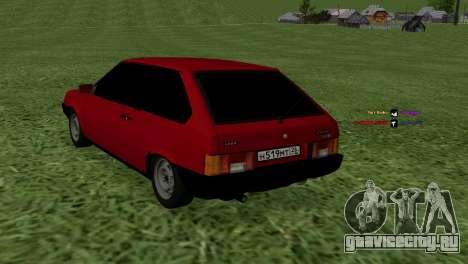 ВАЗ-2108 для GTA San Andreas вид слева