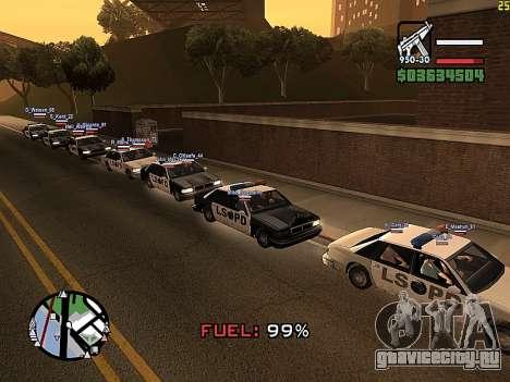 SA-MP 0.3z для GTA San Andreas третий скриншот