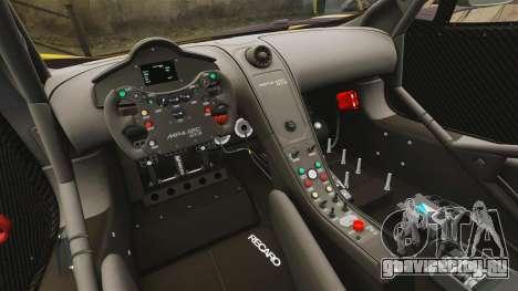 McLaren MP4-12C GT3 (Updated) для GTA 4 вид сбоку