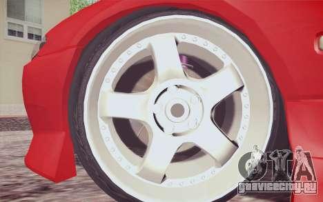 Nissan Silvia S15 BN Sports для GTA San Andreas вид сзади слева