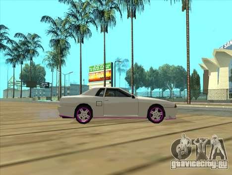 Elegy by MegaPixel для GTA San Andreas вид сзади слева
