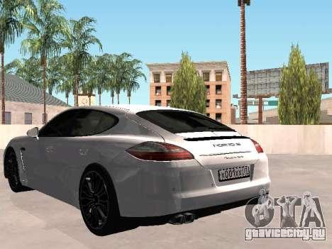 Porsche Panamera 2011 для GTA San Andreas вид слева