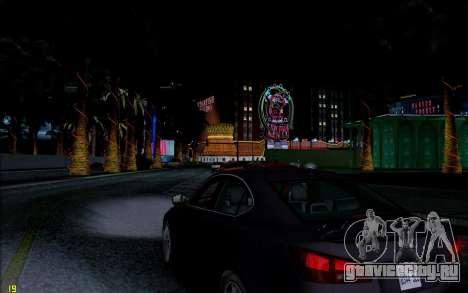 ENB HD CUDA 2014 v1.0 для GTA San Andreas четвёртый скриншот