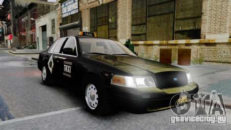 Ford Crown Victoria Cab для GTA 4