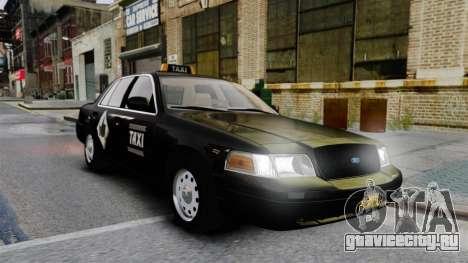Ford Crown Victoria Cab для GTA 4