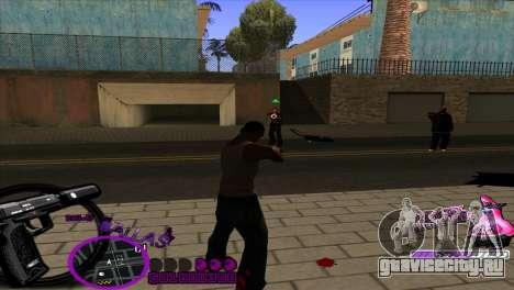 C-HUD Ballas by HARDy для GTA San Andreas третий скриншот