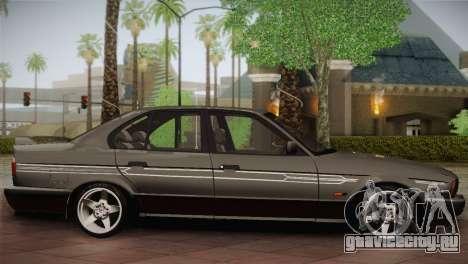 BMW E34 Alpina B10 для GTA San Andreas вид слева