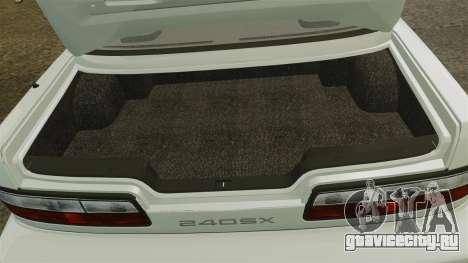 Nissan Onevia S13 [EPM] для GTA 4 вид изнутри