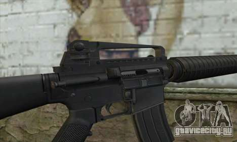 M16A2 для GTA San Andreas третий скриншот
