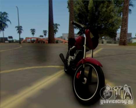 Honda Titan для GTA San Andreas вид слева