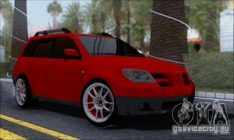 Mitsubishi Outlander Turbo 2005 для GTA San Andreas