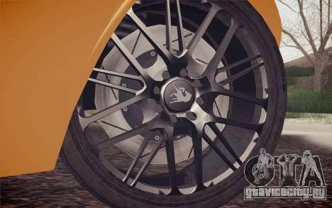 Equus Bass 770 для GTA San Andreas вид сзади слева