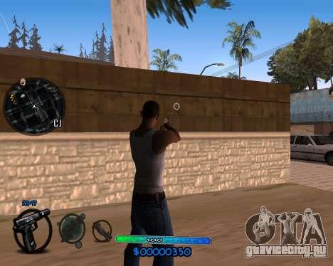 C-HUD by Vadya для GTA San Andreas второй скриншот