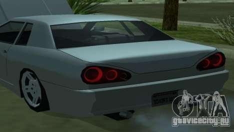 Elegy 280sx для GTA San Andreas вид справа