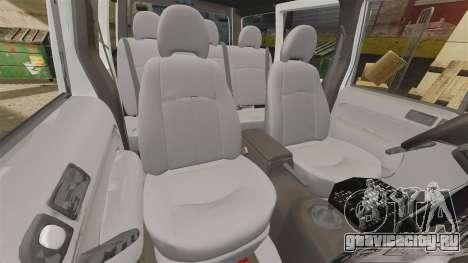 Ford Transit Connect Turkish Police [ELS] v2.0 для GTA 4 вид сбоку