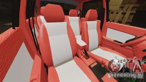 ВАЗ-2170 Dubai для GTA 4 вид снизу