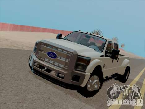 Ford F450 Super Duty 2013 для GTA San Andreas