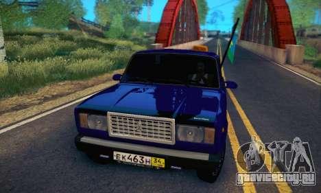 Ваз 2107 ВДВ для GTA San Andreas