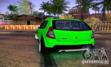 Dacia Sandero для GTA San Andreas вид справа