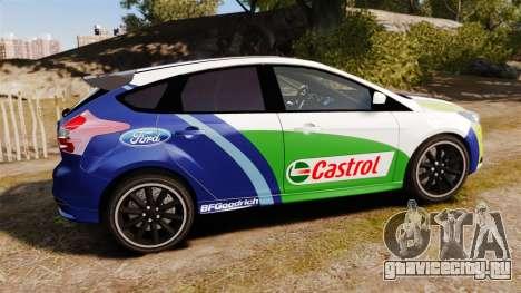 Ford Focus ST Rally для GTA 4 вид слева