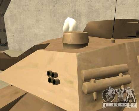 Rhino Mark.VI для GTA San Andreas вид справа