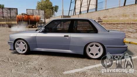 BMW M3 E30 для GTA 4 вид слева