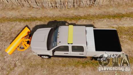 GMC Sierra 2500 2011 [ELS] для GTA 4 вид справа
