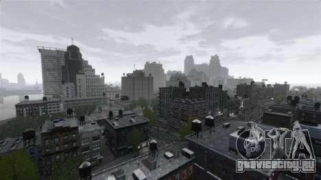 Погода Нью-Йорка для GTA 4 второй скриншот