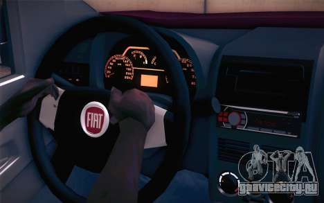 Fiat Fiorino для GTA San Andreas вид справа