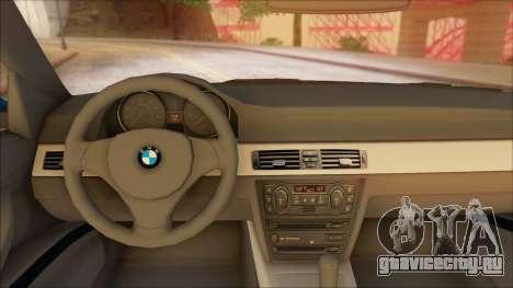 BMW 330i для GTA San Andreas вид сзади слева