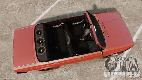 ВАЗ-2107 Donk Style для GTA 4 вид справа