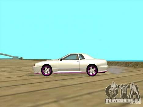 Elegy by MegaPixel для GTA San Andreas вид справа