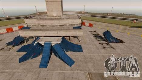 Трюк-парк в аэропорту для GTA 4 второй скриншот