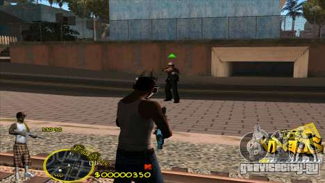 C-HUD Vagos by HARDy для GTA San Andreas третий скриншот