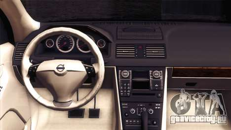 Volvo XC90 2009 для GTA San Andreas вид сзади