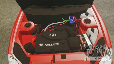 ВАЗ-2170 Dubai для GTA 4 вид изнутри