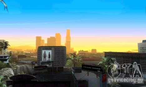 ENBseries для мощных ПК для GTA San Andreas третий скриншот