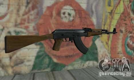 AK47 из L4D для GTA San Andreas второй скриншот