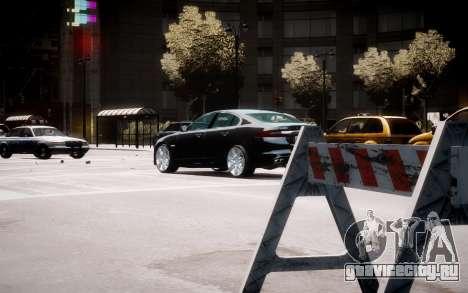 Jaguar XF-R 2012 v1.2 для GTA 4 вид сверху