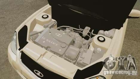 ВАЗ-2170 Lada Priora для GTA 4 вид изнутри